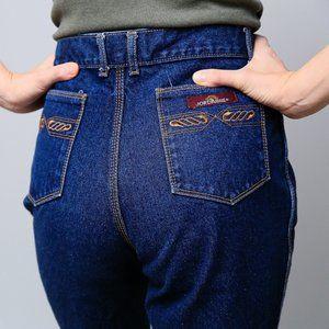 80s Dark Wash Jordache High Waist Jeans